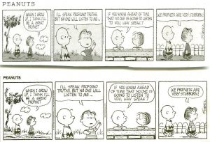 Peanuts cartoon